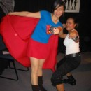 Photo: Super Girl & Tomb Raider