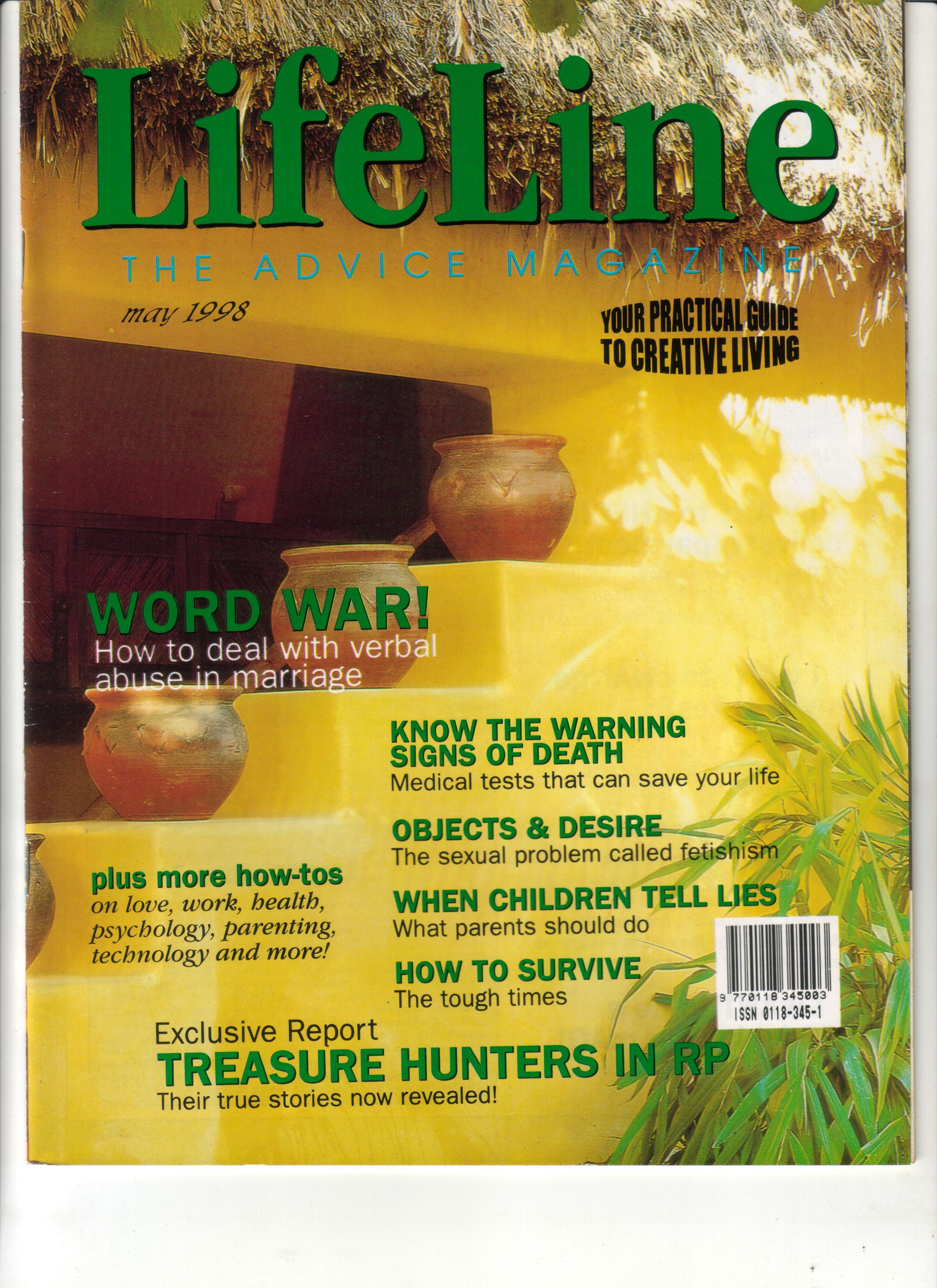 05-98 Lifeline Cover