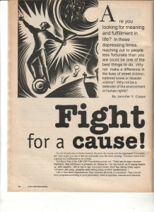 10-98 Fight for a Cause 1