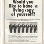 Lifeline Magazine: Human Cloning