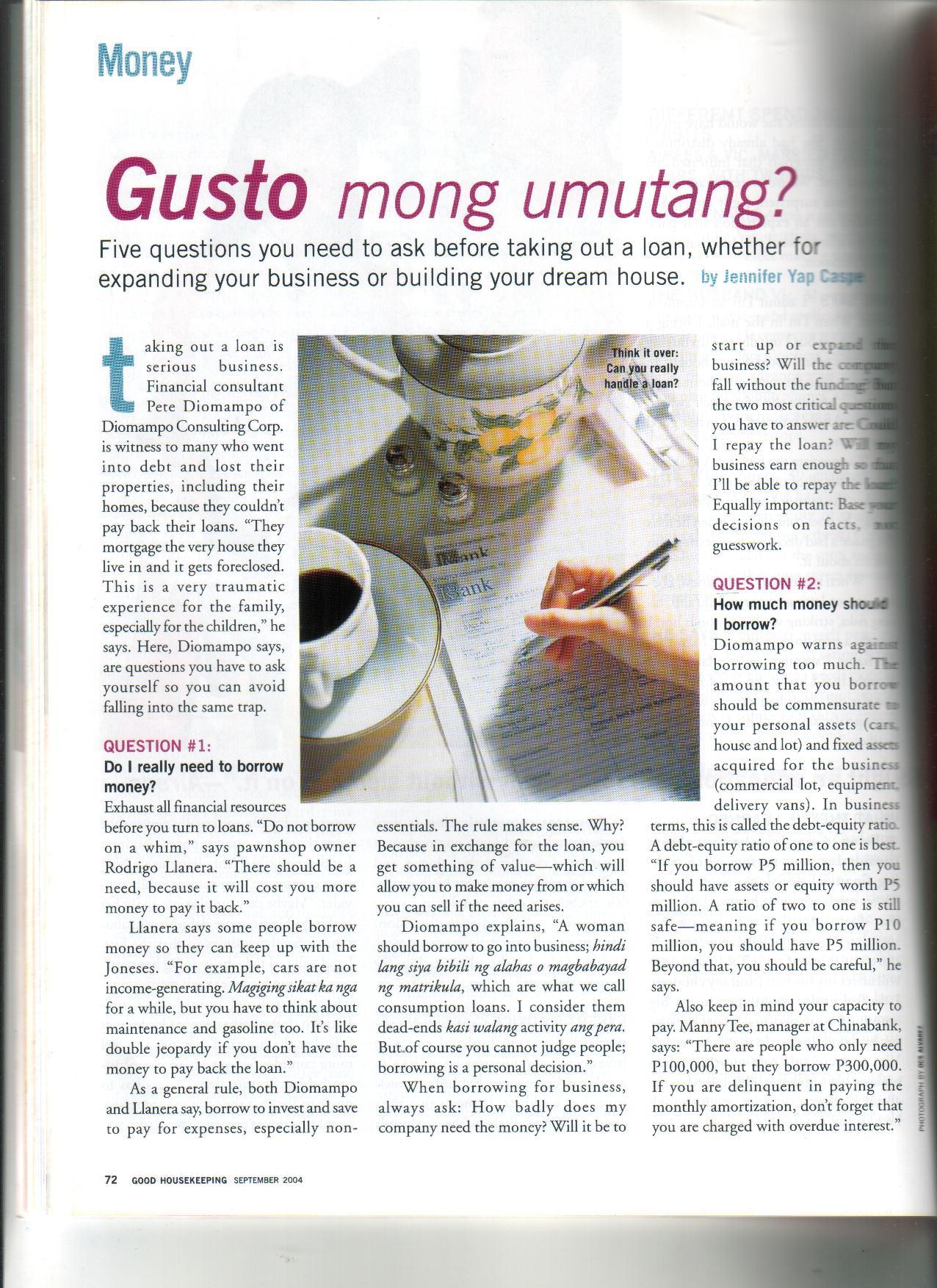 9-04 Gusto Mong Umutang