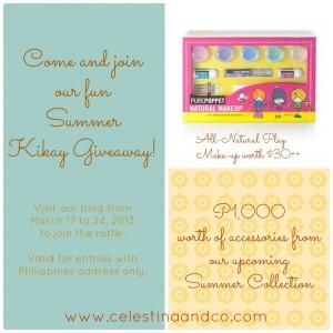 celestina summer giveaway