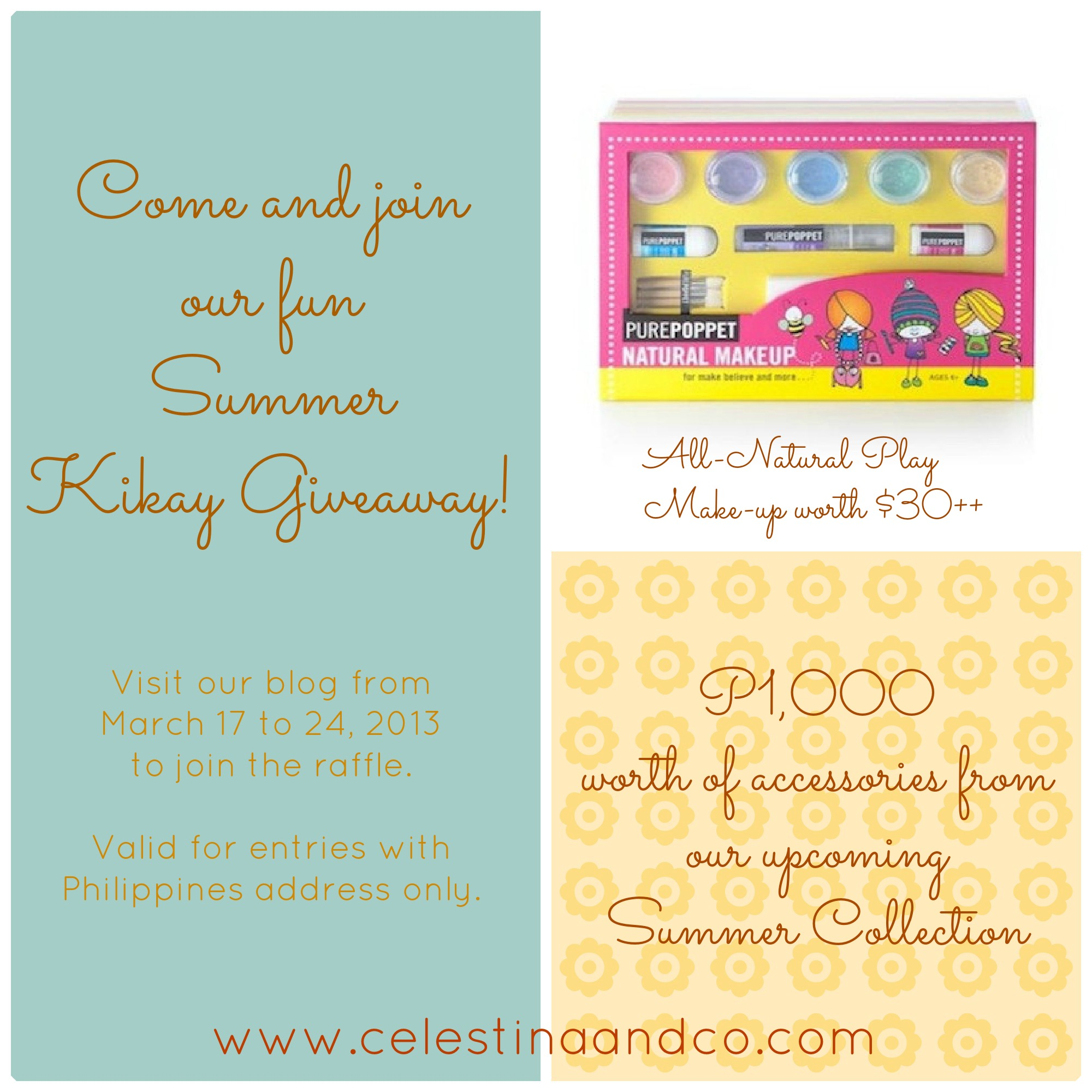 Contest: Celestina & Co.'s Summer Raffle