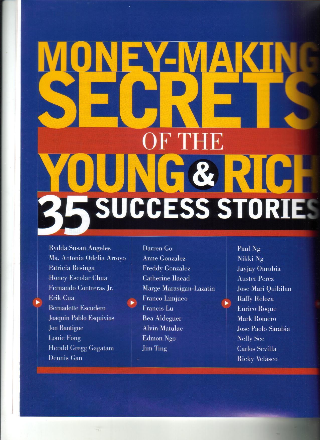 4-06  Making-Making Secrets of the Young & Rich