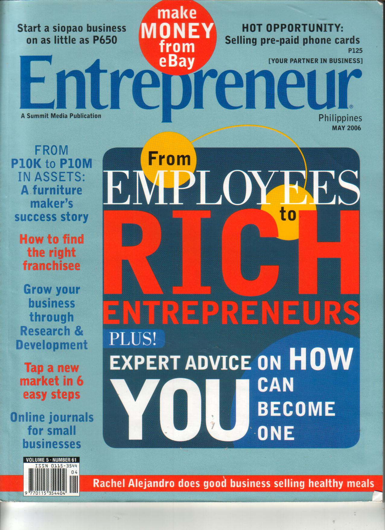 5-06 Entrepreneur Front Cover