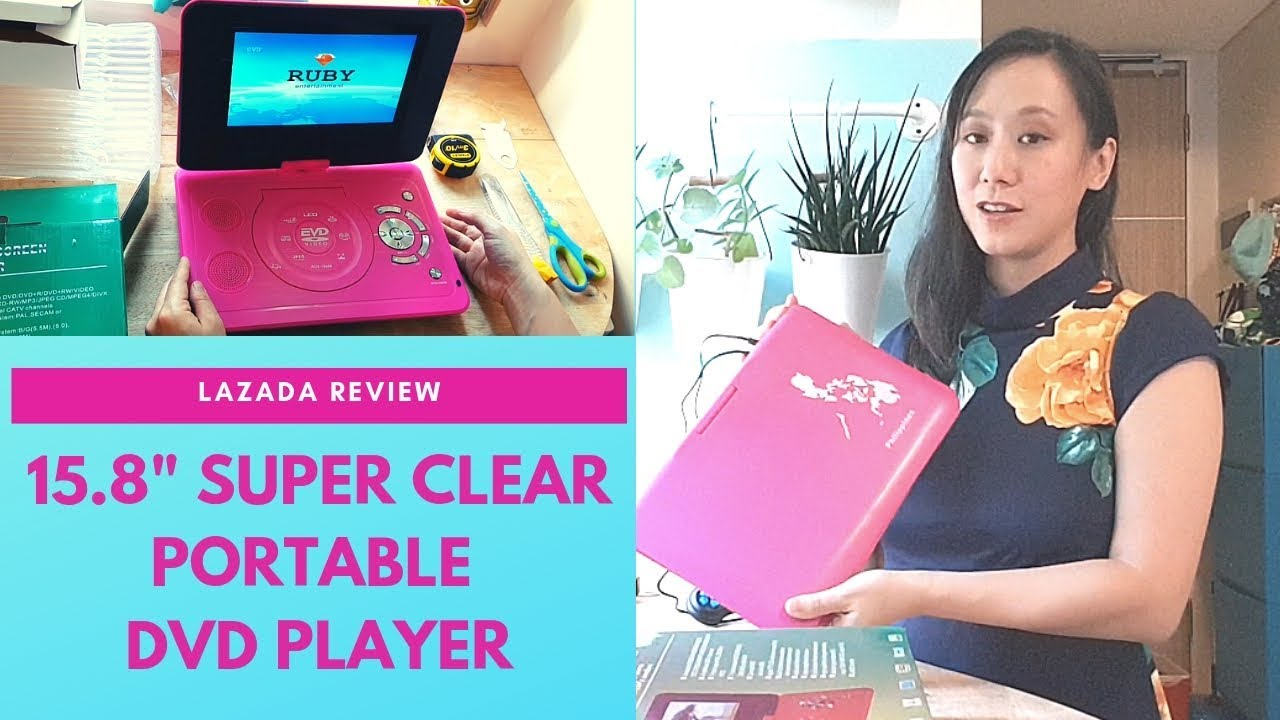 Online Finds: 15.8″ Super Clear Screen EVD Player from Lazada