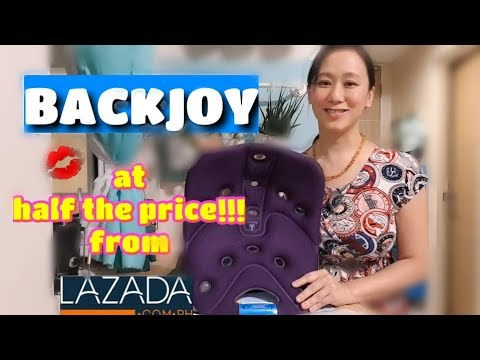 Online Finds: BACKJOY for half the price at Lazada!