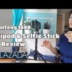 Online  Finds: Yunteng VCT 1688  Selfie Stick & Tripod Review from Lazada