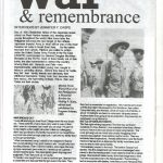 Lifeline Magazine: War & Remembrance