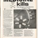 Lifeline Magazine: When Medicine Kills (The Dangers of Anti-biotic)