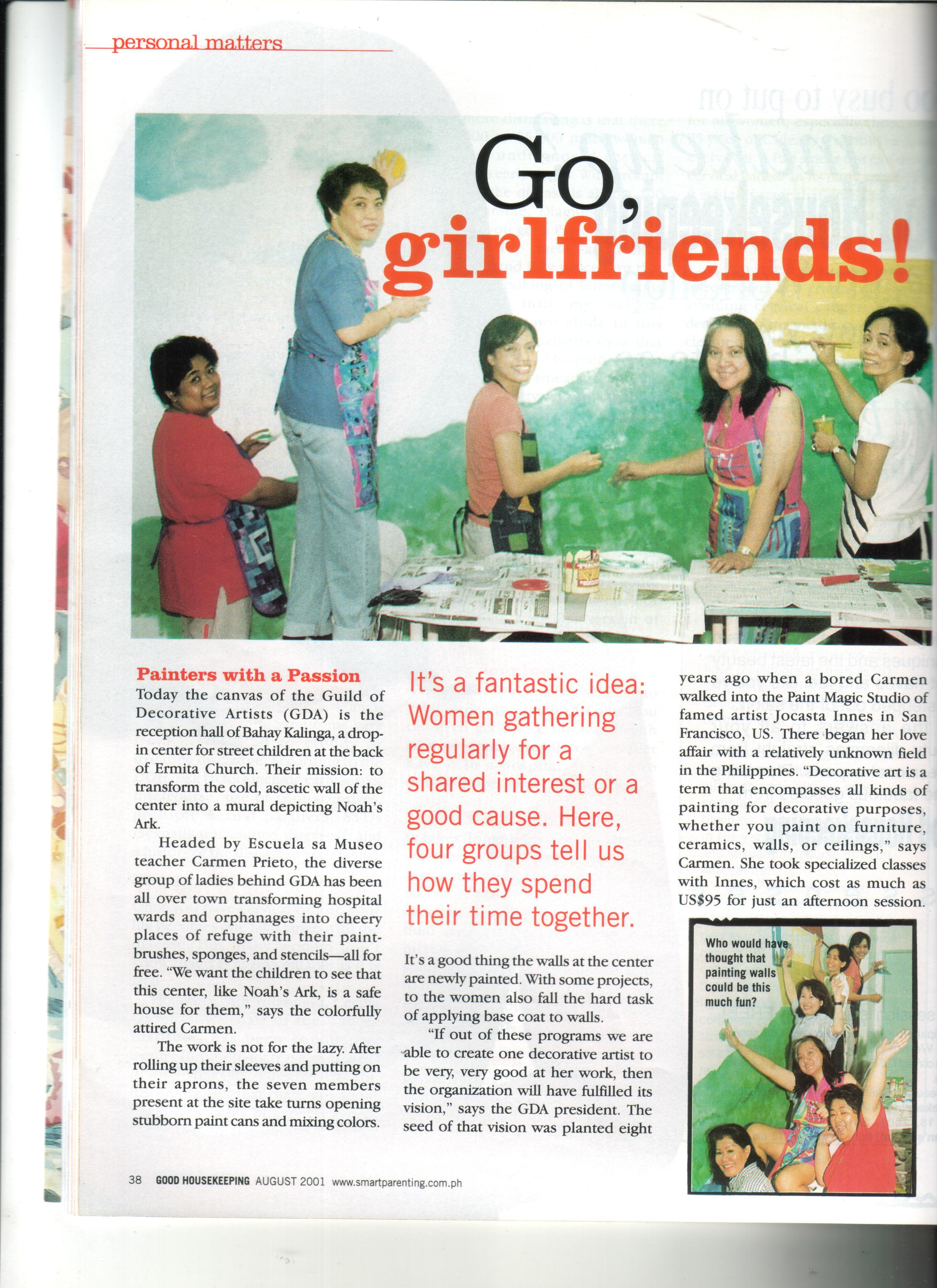 Good Housekeeping Magazine: Go, Girlfriends!
