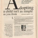 Lifeline Magazine: The Legalities of Adoption Explained