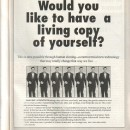 Lifeline Magazine: Human Cloning . . . A Special Feature