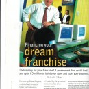 Financing That Dream Franchise