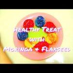Polvoron with Moringa & Flaxseed  (Moringa & Flaxseed Wheat Cakes)